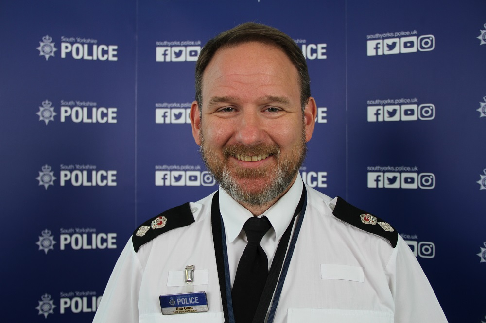 Chief Superintendent Rob Odell